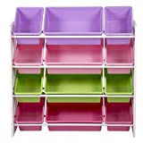 Kids Toy Storage Organizer with Plastic Bins, Storage Box Shelf Drawer 8526