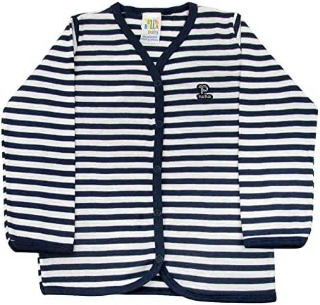Pulla Bulla Toddler Striped Buttoned Cardigan for Ages 1-3 Years
