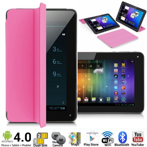 "inDigi Unlocked 7"" Android 4.0 Phablet GSM Dual-Sim Table..."