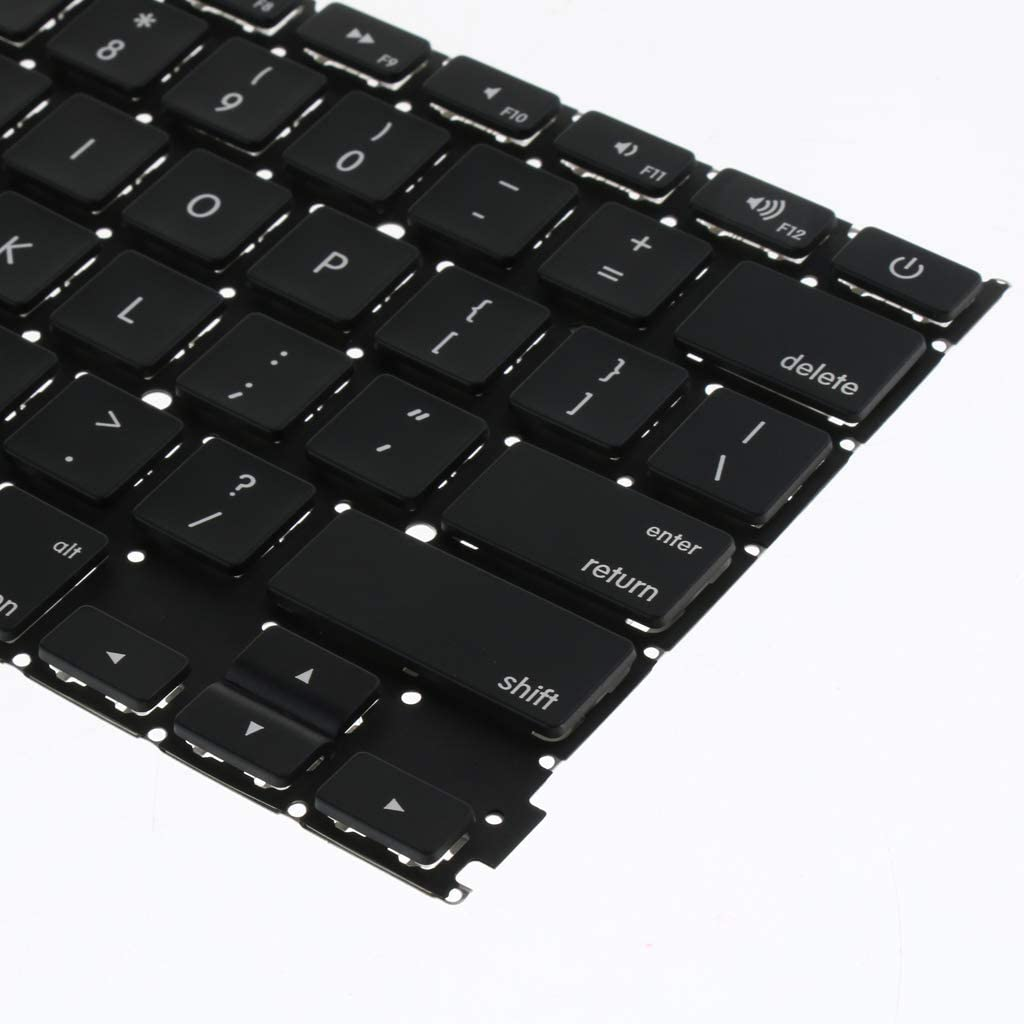 Homyl 1xReplacement Keyboard for MacBook Pro 13 Retina A1425 2012//2013Year Laptop US-Layout