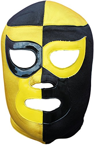 Pierrot Professional Luchador Lucha Libre Mask Adult Size - Premium Quality -
