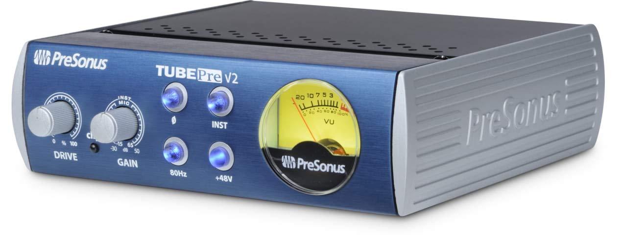 Presonus TubePre v2 Tube Preamplifier DI Box by PreSonus