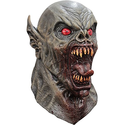 Ancient Nightmare Demon Vampire Head & Neck Mask