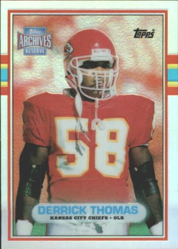 (2001 Topps Archives Reserve Football Card #94 Derrick Thomas Near Mint/Mint)