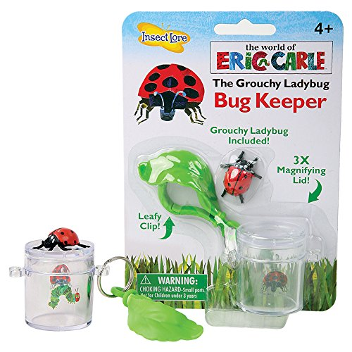 - Insect Lore The World of Eric Carle The Grouchy Ladybug Bug Keeper