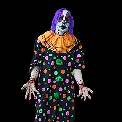 BACK FROM THE GRAVE Suicidal Clown The Walking Dead Zombie | Halloween Prop - Haunted House Character