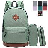 Best Laptop Backpacks For College Schools - CrossLandy Classic School Bookbag Lightweight 15.6 College Laptop Review