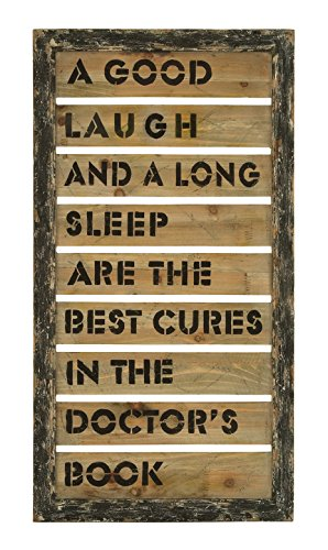 Wall Décor With Inspirational Humor And Laughter Message
