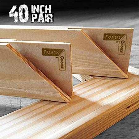 /Coppia 101,6/cm regular UK Stretcher bars/