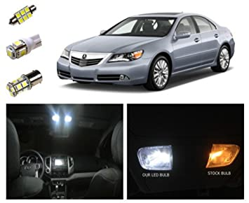 Amazoncom Acura RL LED Package Interior Tag Reverse - 2006 acura rl wiper blades