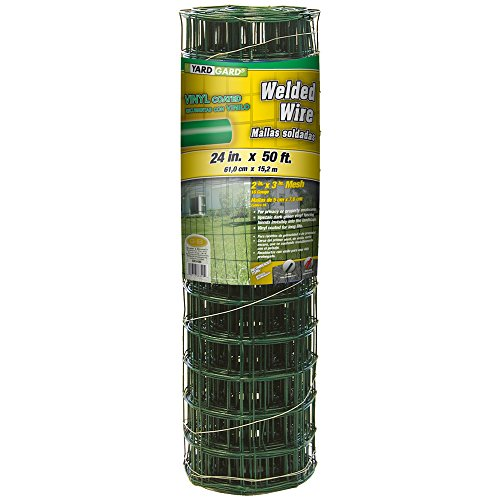 YARDGARD 308349A 24 inch by 25 foot 16 gauge 2 inch by 3 ...
