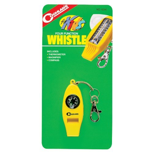 Coghlans Four Function Whistle for Kids (2 Pack) ()
