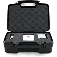 Hard Storage Carrying Case For Mini Portable Printer Carry Travel Case - Fits HP Sprocket Portable Photo Printer, VuPoint Photo Cube, Mini Printer, Ink Cartridges, Photo Paper and Cables