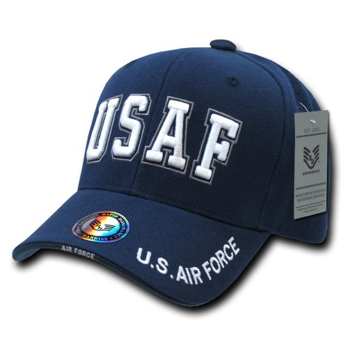 Rapiddominance The Legend Military Cap, USAF Text/Navy