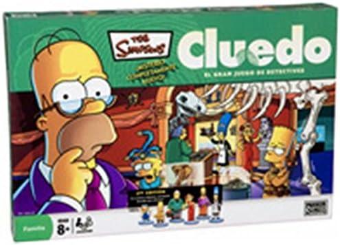 Hasbro Cluedo Simpson: Amazon.es: Juguetes y juegos
