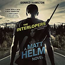 The Interlopers: Matt Helm, Book 12 Audiobook by Claire Bloom - director, Donald Hamilton Narrated by Stefan Rudnicki