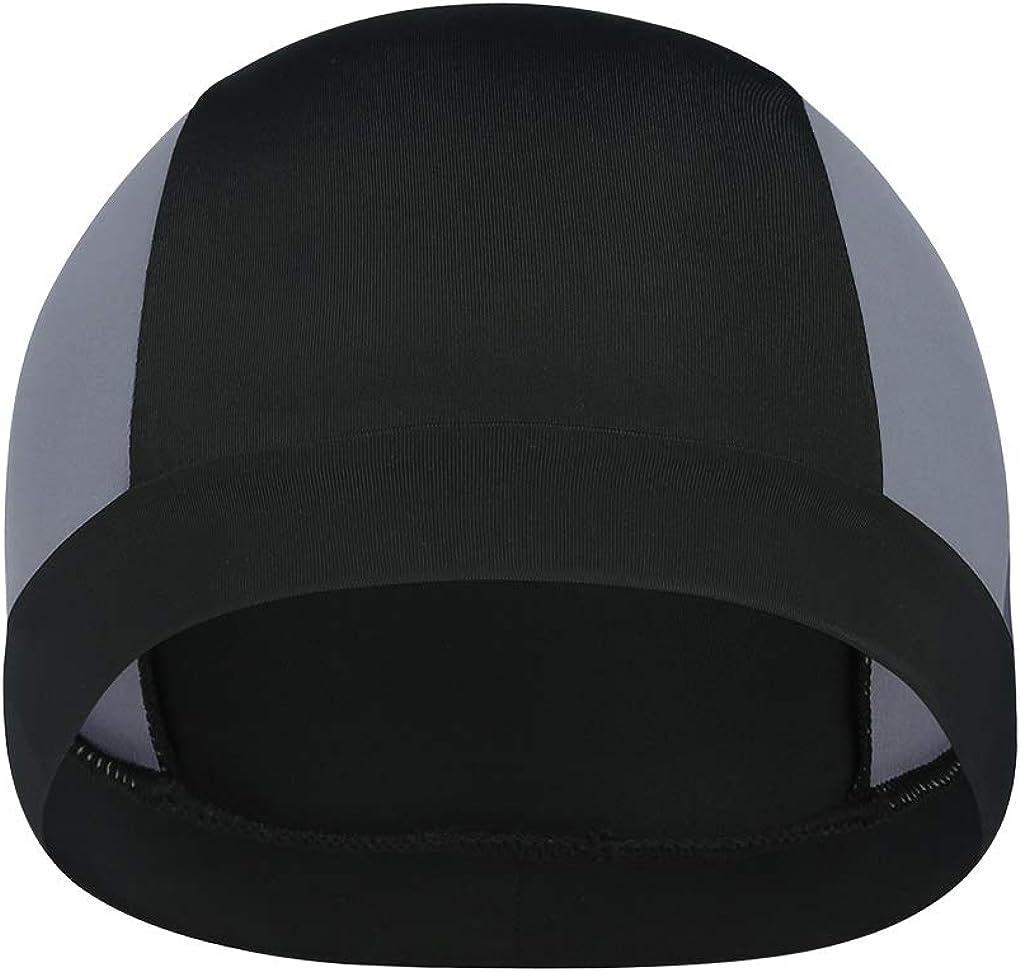 YJZQ Helmet Liner Motorcycle Bike Helmet Cover Sports Headwear Quick-Dry Skull Cap Outdoor Sports Head Wrap Sweat Wicking Beanie Hat Headscarf Anti-UV Head Protection Running Headwear