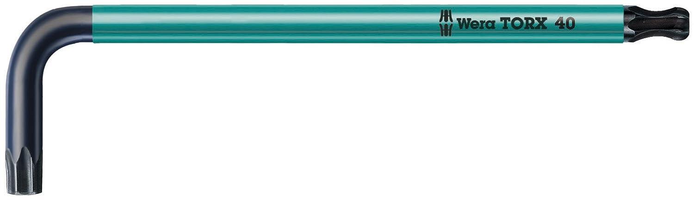 BlackLaser Wera TORX 967 SPKL TORX BO L-key Ballpoint TORX Key TX 60 x 190mm L-key Wera Tools 05024322002