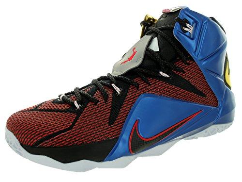 437bd1a7ae508 Nike Men s Lebron XII SE Multi Color Phantom Mtlc Cacao Basketball Shoe  10.5 Men US
