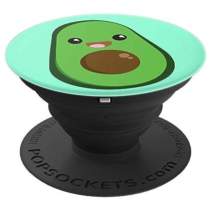 Amazon.com: Avocado Pop Socket Lindo Kawaii Estilo Avacoda ...