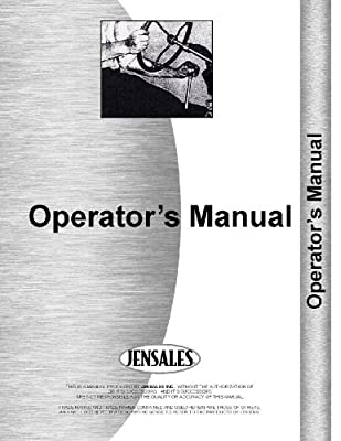 Allis Chalmers 101 Cultivator Operators Manual