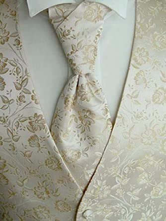 BEYTNUR boda Chaleco con Plastron, toalla de inserción y corbata ...