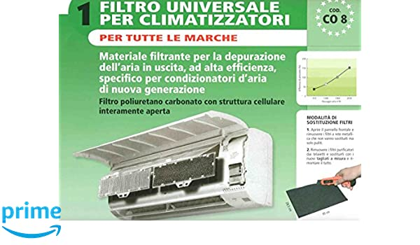 Elettrocasa CO 8 Houseware filter - Accesorio para chimenea (Houseware filter, Negro, Universal): Amazon.es: Hogar