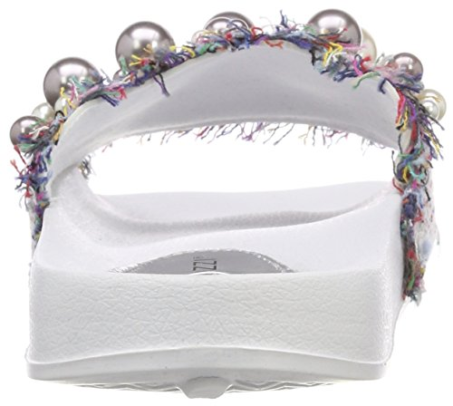 27132 Women's Comb Multicoloured 197 Marco White UK Tozzi Multicoloured White Mules 5 8 FEnwB6a