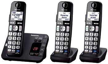 Panasonic Kx-tge233b Expandable Cordless Digital Phone With Large Keypad - 3 Handsets 1