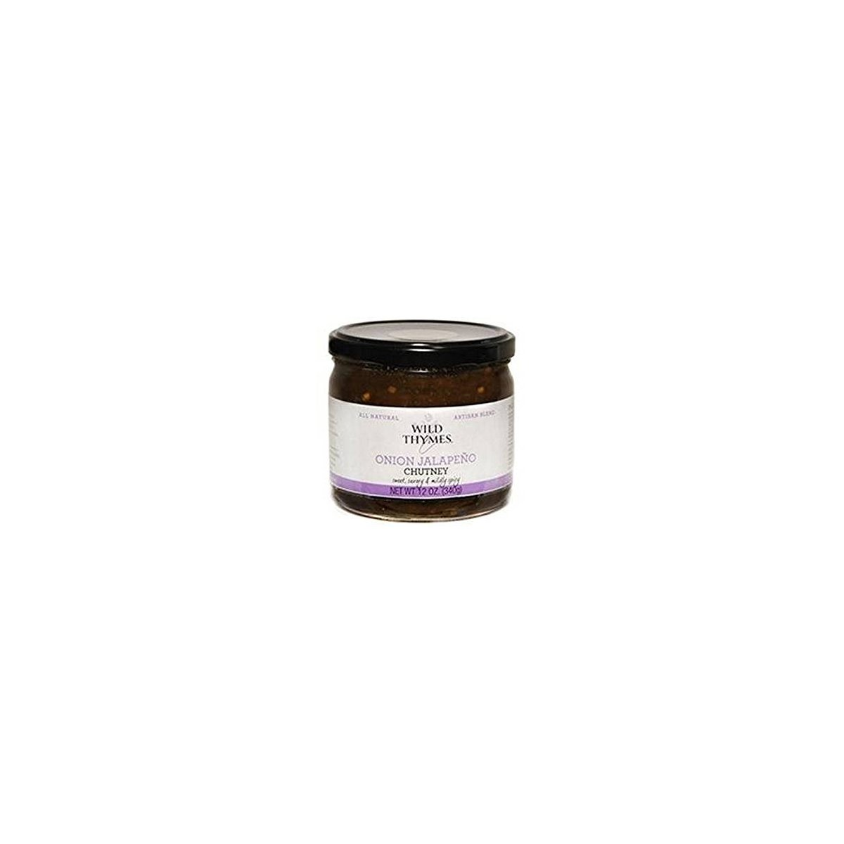 CHUTNEY, ONION JALAPENO , Pack of 12 by Wild Thymes