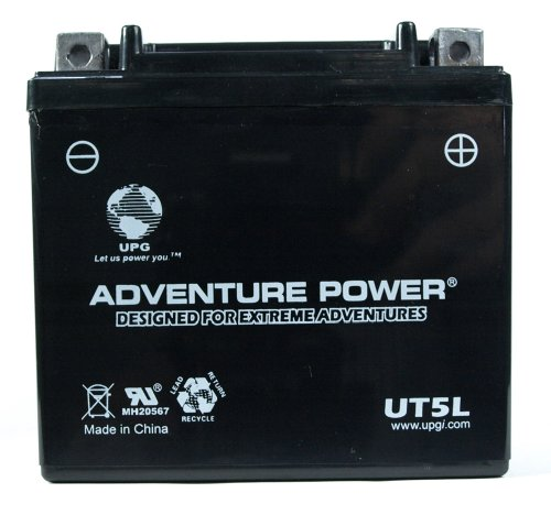 UPG UT5L  Adventure Power Power Sport AGM Series Sealed AGM Battery