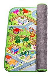 Kids Fleece Play Mat with slip-resistant backing - Limited Edition by MMP Living