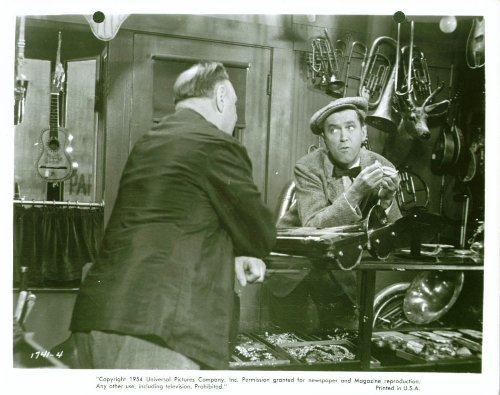 James Stewart Sig Ruman Glenn Miller Black lie 8x10 1954
