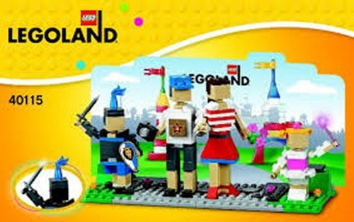 Lego 40115 Legoland Entrance With Family Exclusive