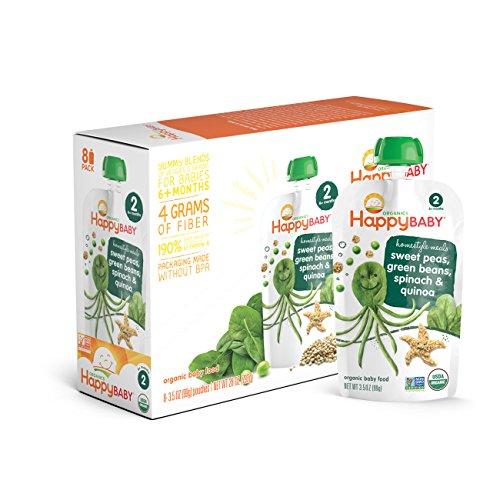 Happy Organic Homestyle Spinach Quinoa