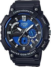 Casio MCW-200H-2AVCF Reloj para Hombre, color Negro