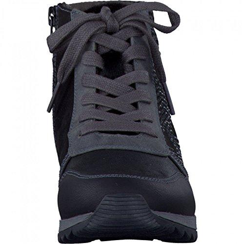 8 de negro zapatilla deporte mujeres 098 Jana 25202 schwarz 7n1Sx6B1Zw