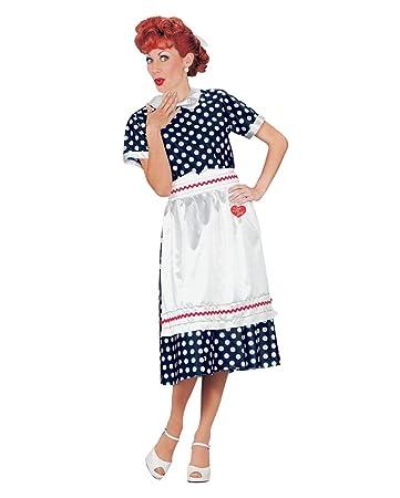 Horror Shop 50er Jahre I Love Lucy Rockabilly Hausfrau Kostüm Für