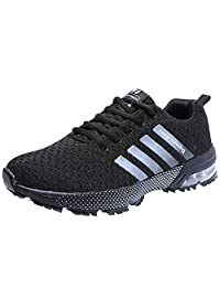 SYKT Running Shoes Mens Womens Fashion Sneakers Tennis Sports Casual Walking Athletic Fitness Indoor and Outdoor Shoes