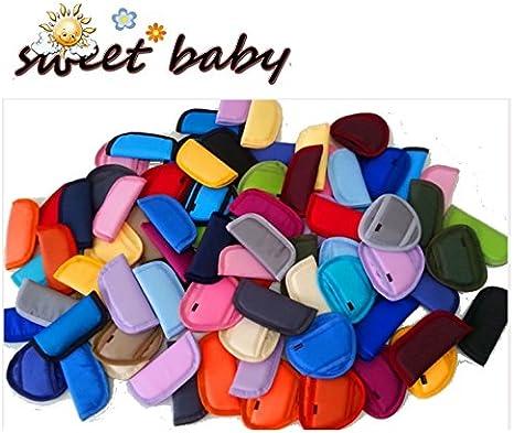 Sweet Baby ** Negro ** 3 x Protector Protectores para arnés o ...