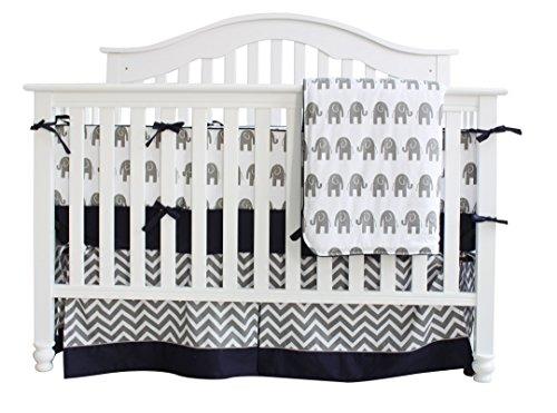 7 Pieces Set Elephant Crib Bedding Bedding Sets