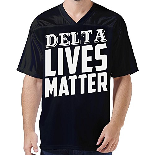 Powerflo DELTA LIVES MATTER Men's Limited Edition Sports Jersey