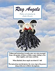 Rag Angel Pattern: Pattern and instructions to make a rag angel from a fat quarter of fabric