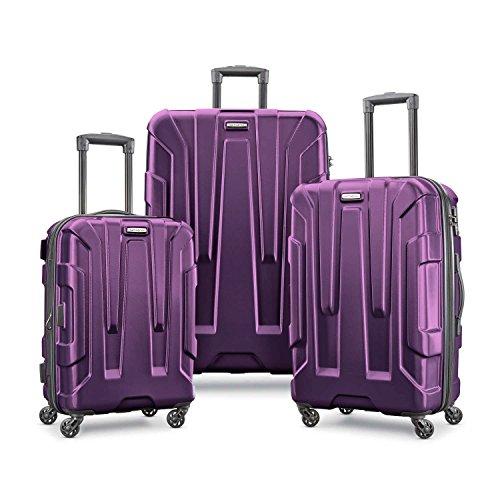 Samsonite Centric 3-Piece Hardside Spinner Set (Purple)