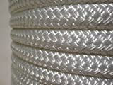 1/2'' x 100 ft. Valsail Double Braid Yacht Braid Polyester Sailboat Rigging Nautical Rope Spool. Valley Rope.