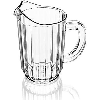 plastic beer pitcher 32 oz beer pitcher ice carafes pitchers. Black Bedroom Furniture Sets. Home Design Ideas