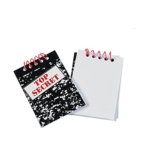 Fun Express Top Secret Notebooks