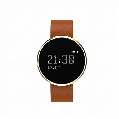 Fitness Tracker,Montre Connectée Smart Bracelet Tracker d'activité Moniteur de sommeil/Compteur du Pas/Compteur de Calories /Smart Bracelet Connecté avec Ecran Tactile Magnétique Recharge pour Andr