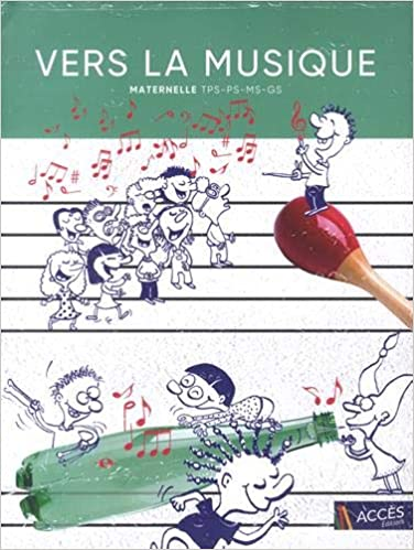 Vers La Musique Maternelle 6cd Audio Amazon Fr Lea