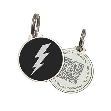 Amazon.com: petdwelling Perfil QR Code Pet ID Tag w/en línea ...